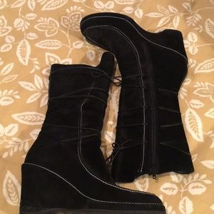Via spiga wedge boot